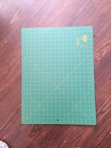 Quilting or sewing cutting board