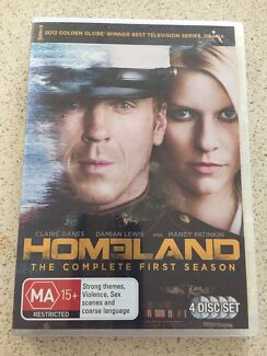 Homeland DVDs (Complete first series)