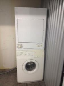5yr old Stackable Washer Dryer combo AEG/GE 24'