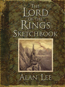 The-Lord-of-the-Rings-Sketchbook-Portfolio-Alan-Lee-Hardcover-Book-NEW-97802