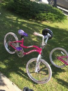 TWO Girl Kids Bikes