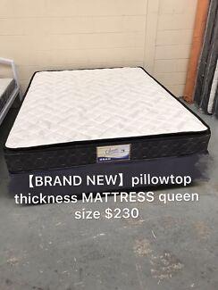【Brand new】 pillow top mattress thickness queen$230