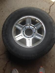 4 Michelin Tires on Dodge Rims With TPS