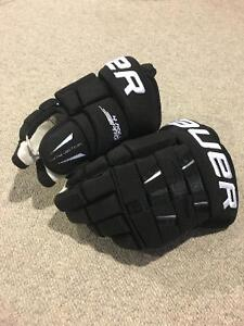 "Bauer 4 Roll Pro Gloves- Black 13"" Cambridge Kitchener Area image 2"