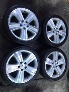 """4 X 18"""" BF Xr6 Turbo Xr8 Premium Wheels Rims Tyres Templestowe Manningham Area Preview"""