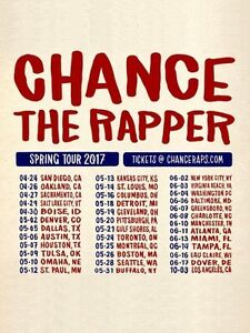 Chance The Rapper Lawn ticket for sale