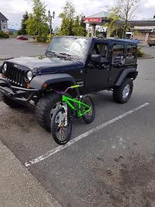 2012 Jeep Wrangler jku low k ..sale or partial trade xj