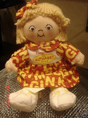 Campbells Soup Company  The Alphabet Soup  Rag Doll