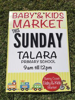 Baby & Kids Market Sunday 20 August