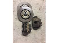 Corsa b c20xe big brakes and conversion hubs
