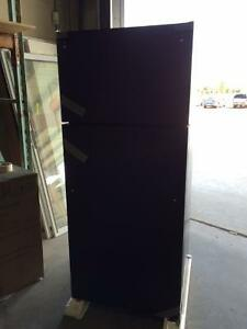 GE Energy Star 17.5 Cu ft Black Refrigerator NEVER BEEN USED