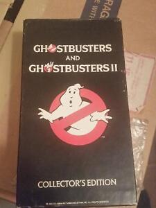 ► Ghostbusters 1 & 2 Collector's Edition Vhs 1990