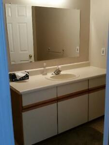 Vanity, sink and faucet