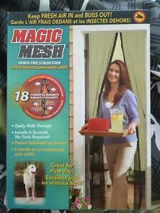 Brand New Magic Mesh Screen Door Kitchener / Waterloo Kitchener Area image 1