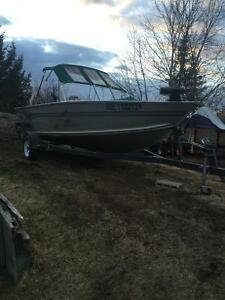 2001 G3 115 HP boat for sale