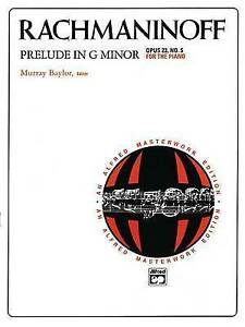 NEW Prelude in G minor, Op. 23, No. 5 (Alfred Masterwork Edition)
