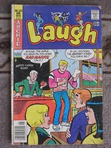 Three Comics from Laugh (Archie comics)