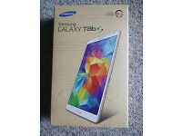 "Samsung Galaxy tab 8.4"". As new boxed. £180 fixed price"