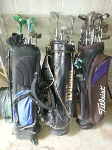3 sets of golf clubs Peterborough Peterborough Area image 1