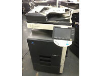 Konica Minolta Bizhub C253 Colour Laser Copier/Printer/Scanner/Toners full ... Mint Condition !