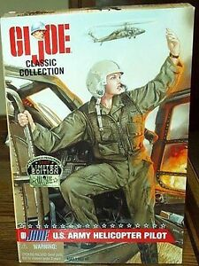 1997 G.I. Joe Classic G1 Jane Doll U.S. Army Helicopter Pilot