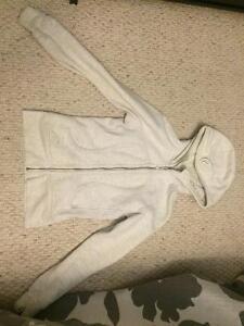 White/Black salt pepper Lululemon sweater