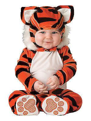 Incharacter Tiger Tot Cub Orange Infant Costume Halloween Cute Baby Size 16004