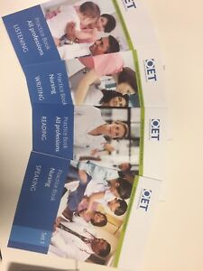 OET Nursing materials +2CD South Brisbane Brisbane South West Preview