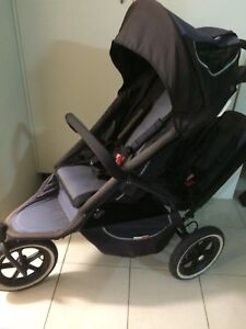PHIL and teds baby pram double seat Hebersham Blacktown Area Preview
