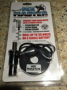 Ice Auger Power Drill Conversion Kit