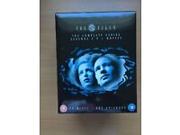The X Files, Series 1 - 9 DVD boxset + 2 theatrical movies