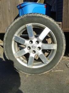 4 Nissan 17inch rims for trade