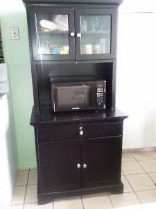 Microwave Stand With Hutch Buy Amp Sell Items Tickets Or