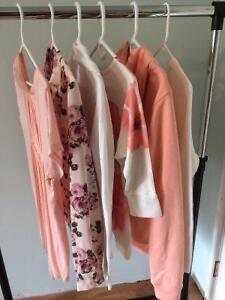 6 Pink and White Tops, Good Condition Comox / Courtenay / Cumberland Comox Valley Area image 1