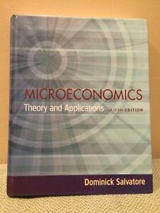 Dominick Salvatore Microeconomics: Theory and Applications