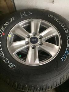 "2016 F-150 rims and tires. 17"". NEW"