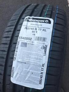 $399(TAX-IN)–NEW 205/45/R17 Barum Bravuris 3HM tires– Mini Cooper/ Clubman/ Mazda 2/ MX5/ Protege/ CRX/ RIO/ Fiat Spider
