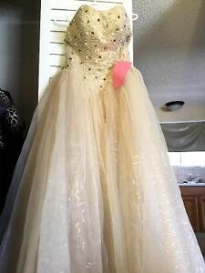 Champagne Colored Ball Gown