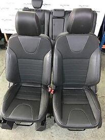 2016 ford kuga half leather trim titanium