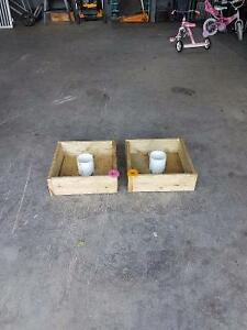 Washer toss boxes