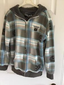 Excellent Youth Plaid Jacket, Size L,  Great for Fall London Ontario image 1