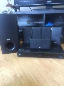 LG blue ray surrounded sound