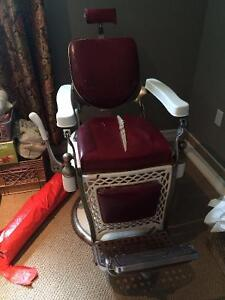 antique barber chair for sale