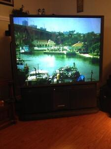 "53"" Hitachi HD TV"