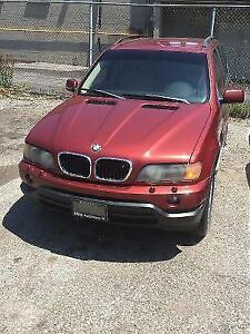PARTS GALORE!!! 2003 BMW X5 SUV, Crossover