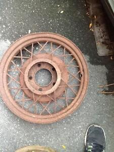 Model T axle parts and rims London Ontario image 2