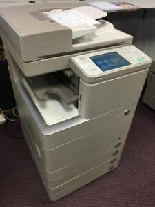 REPOSSESSED Canon IRA C5030 Colour Copier Printer Scanner Copy Machine Printer BUY 11x17 imageRUNNER Advance Copiers