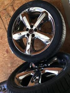 Car rims and tires asking $250 OBO