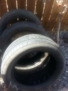 Three Michelin low profile tires from Ford Fusion