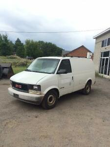 2001 GMC Safari Cargo Work Van Vortec Engine